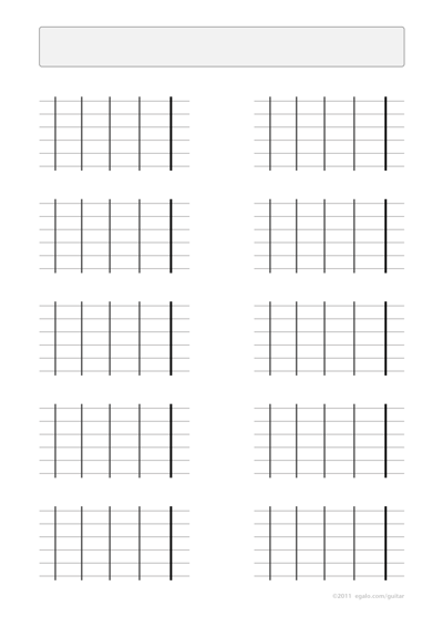 Fretboard With Natural And Non Notes