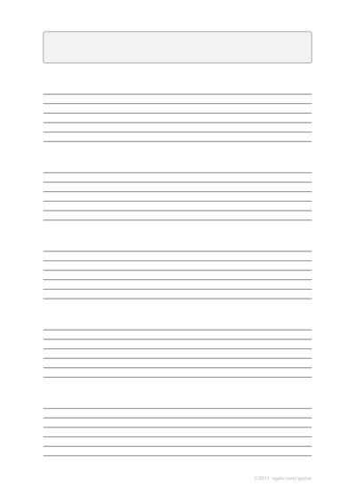 Guitar printable guitar tablature sheets : Guitar : printable guitar tablature sheets Printable Guitar ...